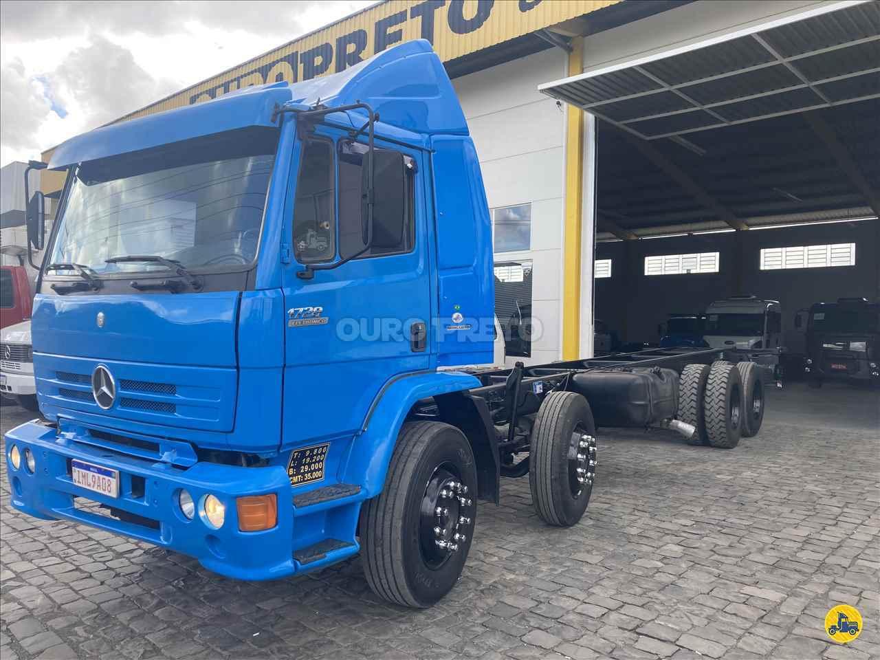 CAMINHAO MERCEDES-BENZ MB 2428 Chassis BiTruck 8x2 Ouro Preto Caminhões LAGES SANTA CATARINA SC